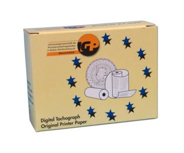 Thermopapier für Digital-Tachograph