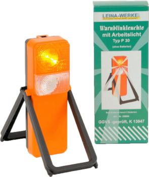 Warnblinkleuchte mit Arbeitsscheinwerfer