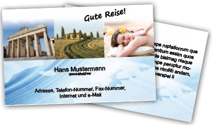 Igp Eg Warenverkauf Visitenkarten Format 8 5 X 5 5 Cm Im